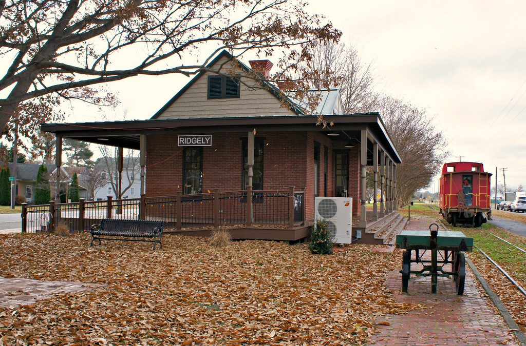Ridgely Train Depot (ca. 1892) Restored