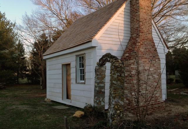 James H. Webb Cabin Restored
